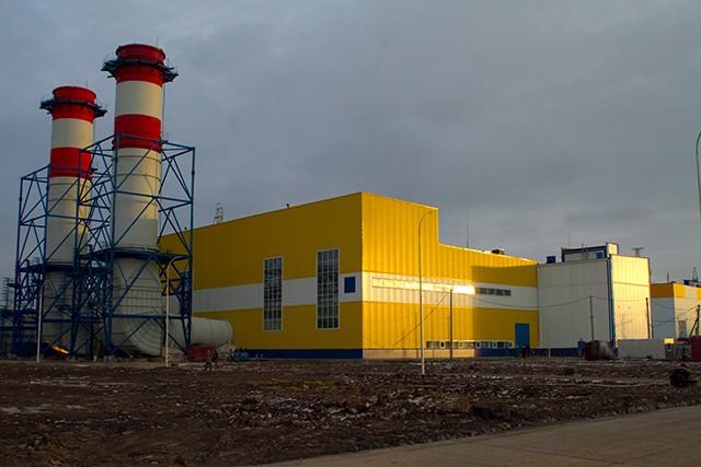 Новокузнецкая ГТЭС мощностью 298 МВт