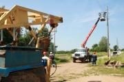 «Ленэнерго» выделило мощность коттеджному поселку в Ленобласти