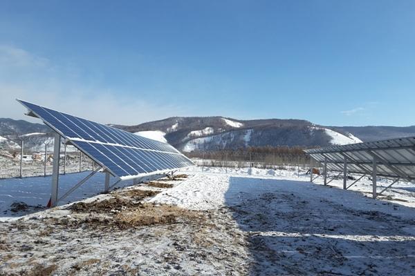 Первую самостоятельную энергоустановку насолнечных батареях запустили вЗабайкалье