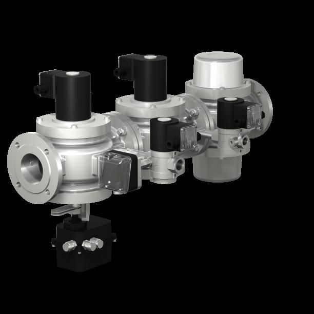 Блок газовых клапанов С8Н-3-100