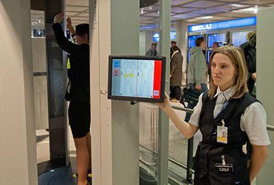 рентген фото в аэропорту