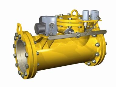 запорные клапаны газовые быстродействующие